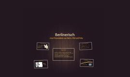 Berlinerisch