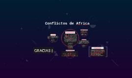 Conflictos de Africa