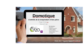 Copy of Domotique