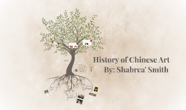 Copy of History of Chinese Art