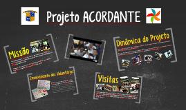 Projeto ACORDANTE