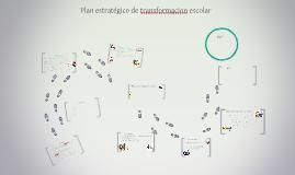 Copy of Plan estratégico de transformacion escolar