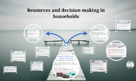 Resources and decision-making in households