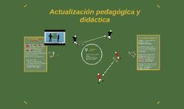 Actualización pedagógica y didáctica