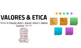 VALORE & ETICA
