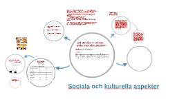 Kulturella och sociala traditioner