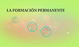 LA FORMACIÓN PERMANENTE