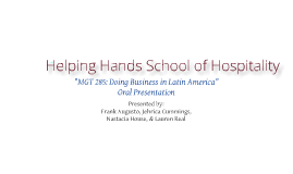Panamanian Hospitality