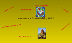 Enviromental & sustainability and issues of software and hardware