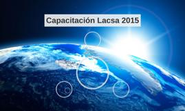 Capacitación Lacsa 2015