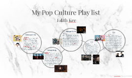 My Pop Culture Playlist