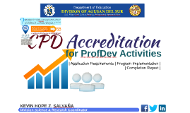 Application for CPD Accreditation in DepEd