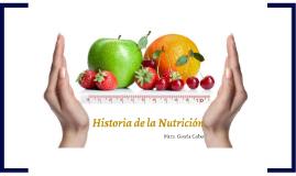 PNCA2-Historia de la Nutrición