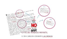 Copy of CITAS DE TRABAJO INFANTIL