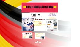 Medios de Comunicación en Alemania