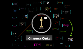 Copy of Cinema Quiz