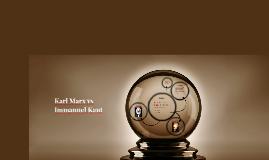 Karl Marx vs Immanuel Kant