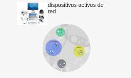 dispositivos activos de red