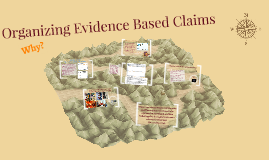 Organizing Evidence Based Claims