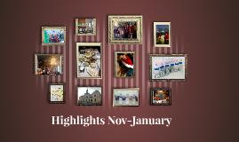 Highlights Nov-January