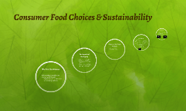 Consumer Food Choices & Sustainability