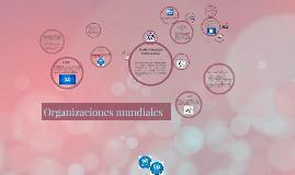 Copy of Copy of Organizaciones mundiales