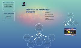 Moleculas de Importancia Biologica