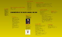 Standardization of the English Language