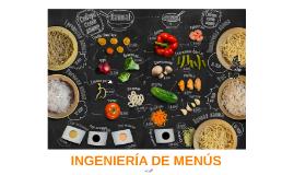 INGENIERIA DE MENÚS