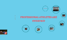 PROFESSIONAL ATHLETES ARE
