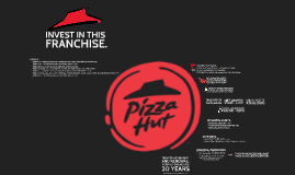 Invest in a Pizza Hut Franchise