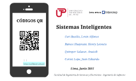 Copy of UTP - Sistemas Inteligentes codigos QR