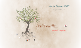 Petits outils ...grands impacts