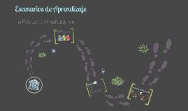 ESCENARIOS DE LA PSICOLOGÍA EDUCATIVA