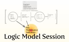 Logic Model Session