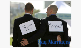Persuasive Speech : Gay Marriage