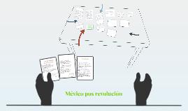 México pos revolución