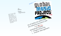 Global Music Project  with our technology supporter Salesforce