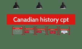 Canadian history cpt