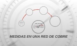 MEDIDAS EN UNA RED DE COBRE