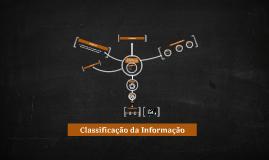 Classificação da Informação