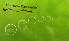 Ecosystems Final Project