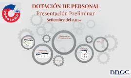 DOTACIÓN DE PERSONAL