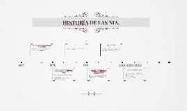 HISTORÍA DE LAS NIA.