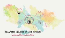 analyzing Imagine by john lennon