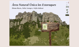 Area Natural Unica los Estoraques