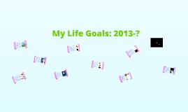 1 Year Academic Goal: