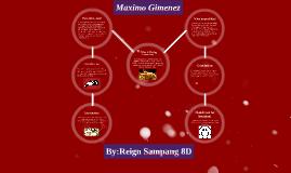 Copy of Maximo Gimenez