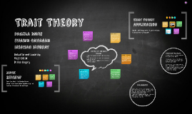 Copy of Trait Theory