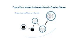 Como Funciona Instrumentos de Corda e Sopro